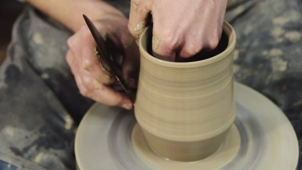 Thumbnail for Hand-Made: a Potter Makes a Pot Of Clay
