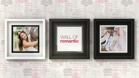 Thumbnail for Romantic Photo Wall Gallery