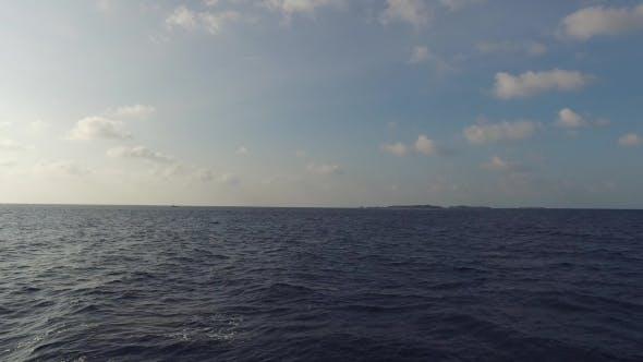 Thumbnail for Sea And Sky On Maldives Beach 12