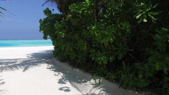 Thumbnail for Access To Sea On Maldives Beach 2