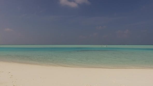 Thumbnail for Sea And Sky On Maldives Beach 1