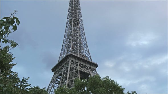 Thumbnail for The Beauty of the Eiffel Tower in the Morning