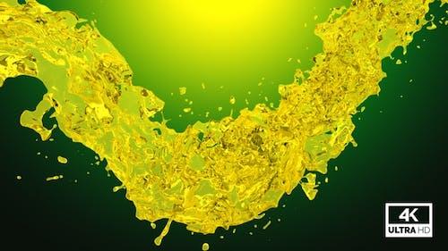 Twisted Olive Oil Splash V3