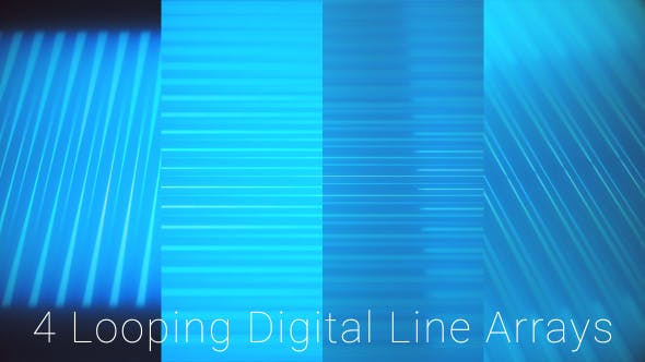 Thumbnail for Blue Digital Parallel Lines