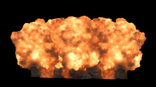 Starke Explosion