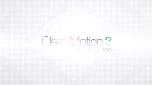 Thumbnail for Clean Motion 3