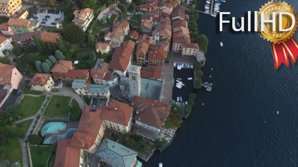 Thumbnail for Flying Around the Chapel in a Small Italian Town