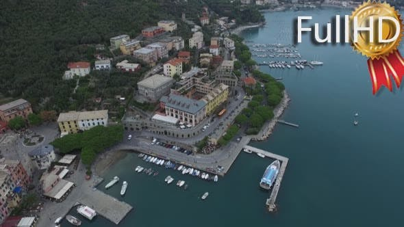 Thumbnail for Aerial Video of the Pier With Yachts