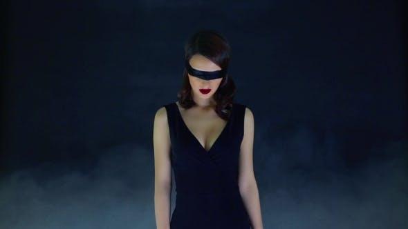 Thumbnail for Girl In The Fog Blindfolded
