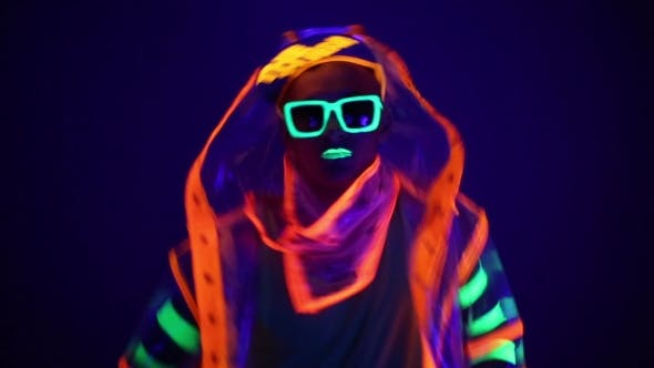 The Man In The Neon Costume