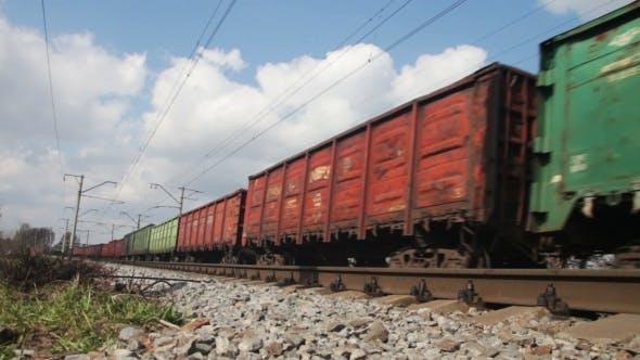 Thumbnail for Zug Fahrten auf Schienen