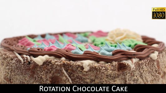 Cover Image for Rotation Chocolate Cake 4
