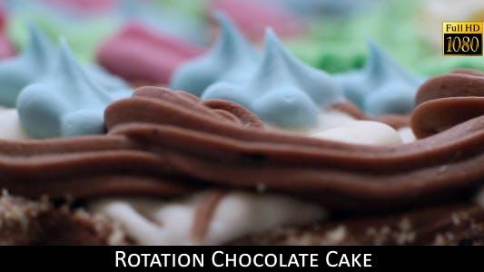 Rotation Chocolate Cake 6