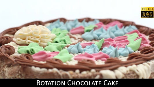 Cover Image for Rotation Chocolate Cake 7