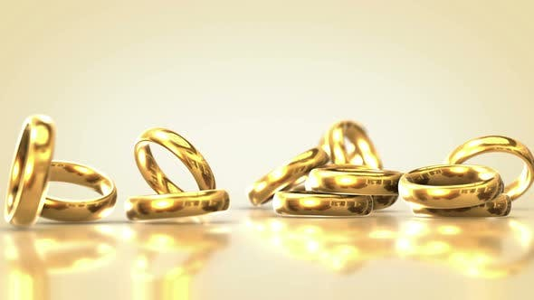 Thumbnail for Falling Wedding Rings 2