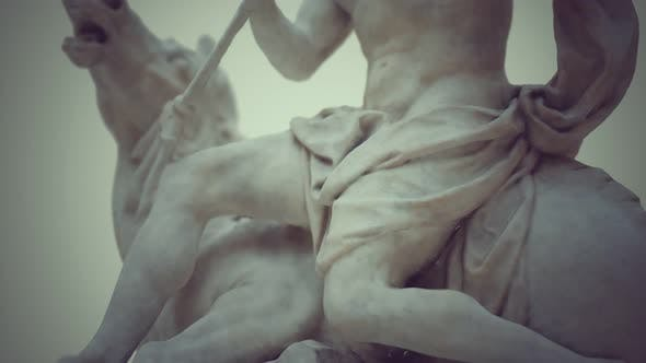 Thumbnail for Close Up of the Neptune Statue