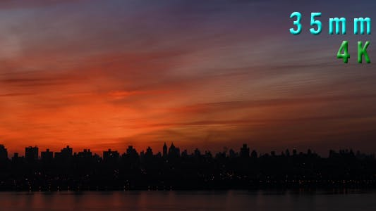 Thumbnail for Pink Morning New York City Sky