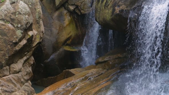 Thumbnail for Waterfall In Tropical Forest