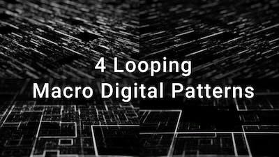 Macro Circuitry Pattern
