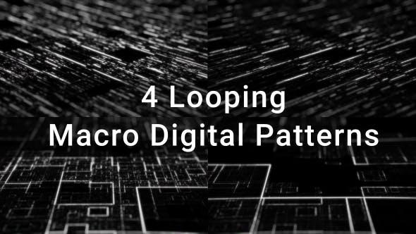 Thumbnail for Macro Circuitry Pattern