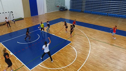 Cover Image for Volleyball Training