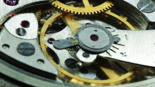 Thumbnail for Mechanism Of Old Clock In The Work 5