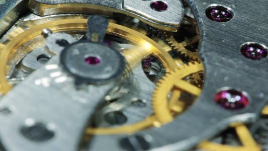 Cover Image for Mechanism Of Old Clock In The Work 11
