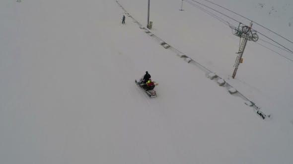 Thumbnail for Chair Lift At A Ski Resort
