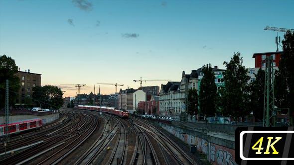 Metro Trains in Hamburg