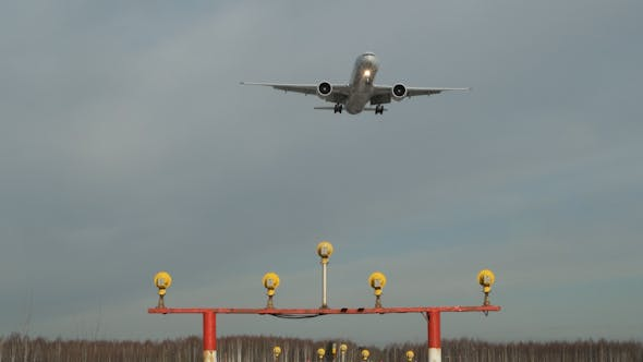 Thumbnail for Landing Of A Passenger Plane
