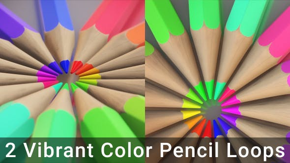 Thumbnail for Vibrant Color Pencil Radial Loops