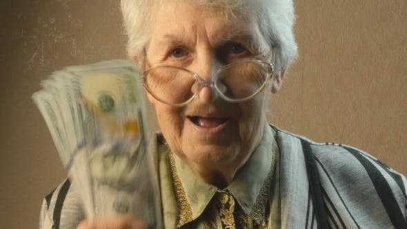 Thumbnail for Old Woman Rejoices Money