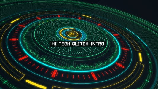 Thumbnail for Hi Tech Glitch Intro