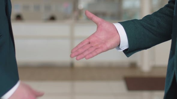 Thumbnail for Business Handshake Of Colleagues