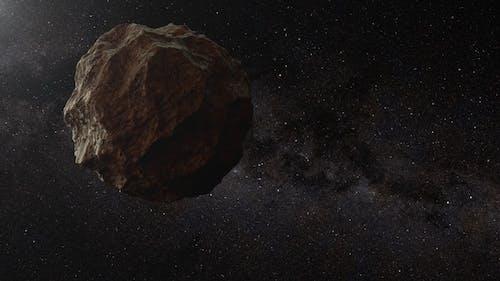 Fliegender Asteroid