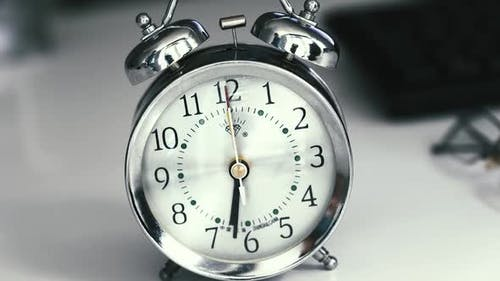 Timelapse Classic Desktop Clock