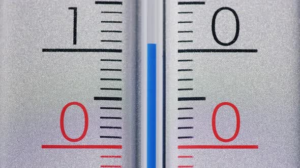 Cover Image for The Thermometer Shows the Temperature Above Zero in Degrees Celsius