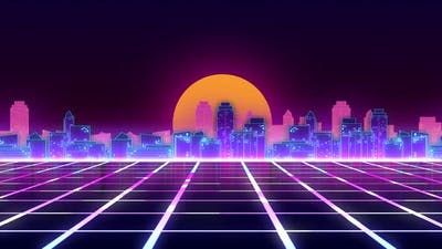 Cyberpunk Background Ver.4