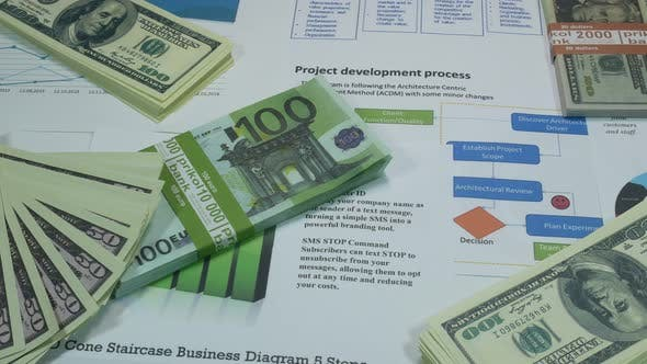 Thumbnail for Business Graphics And Profit On The Table