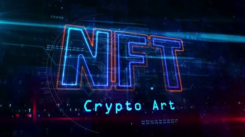 NFT crypto art symbol abstract loopable tunnel