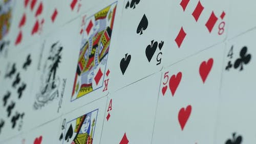 Modern Deck Of Cards For Playing Poker