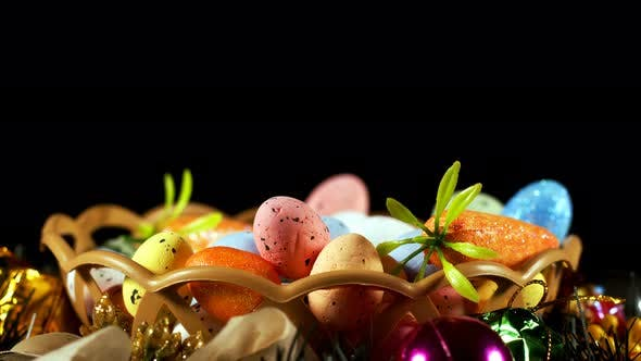 Thumbnail for Colorful Traditional Celebration Easter Paschal Eggs 29