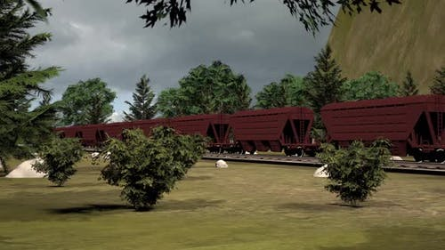 Umstellung auf Güterzug