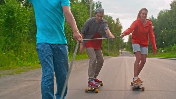 Thumbnail for Longboarding Together
