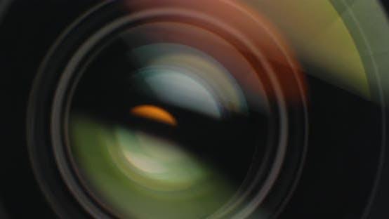 Thumbnail for Camera lens adjusting aperture