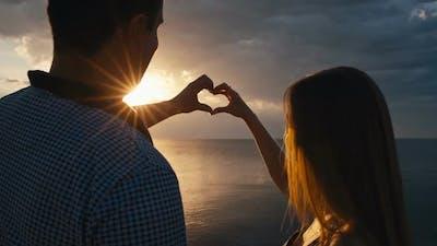 Enjoying the Sunset Together