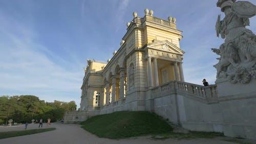 Gloriette monument in Vienna