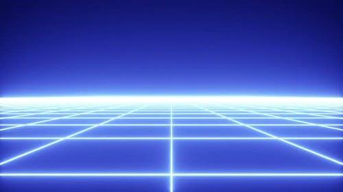 Retrowave Grid
