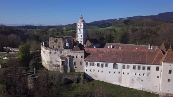 Thumbnail for Aerial View of Schallaburg Castle, Austria