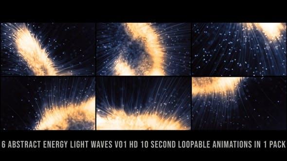 Thumbnail for Abstract Energy Light Waves V01